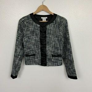 Charlotte Russe Jacket Gray Sz: S
